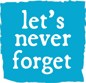 Let's Never Forget Logo